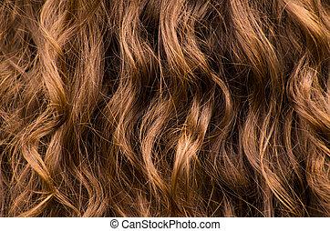 Wavy Hair Background