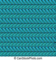 Wavy horizontal stripes seamless pattern