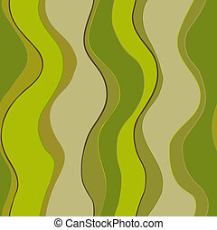 Wavy lines - Abstract vector seamless pattern with stylized ...
