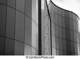 wavy modern architecture