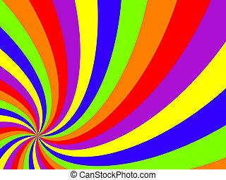 wavy swirl background, abstract art illustration