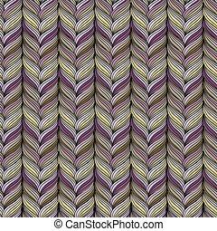 Wavy vertical stripes seamless pattern