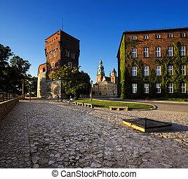 wawel, 皇家, 城堡, 克拉科夫, 波兰