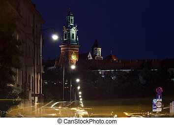 Wawel Cathedral on the Wawel Hill. Krakow. Poland.