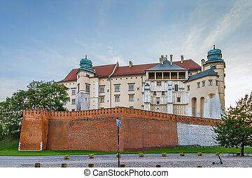 Wawel Danish Tower, Krakow, Poland