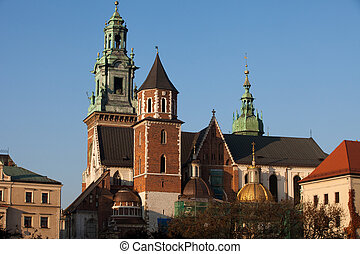 Wawel Hill and the Royal Castle in Krakow
