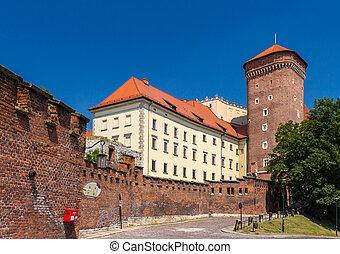 Wawel Royal Castle in Krakow - Poland