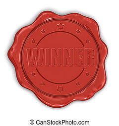 Wax Stamp Winner