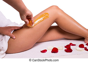 Wax treatment