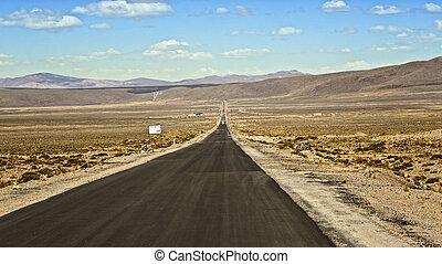 way in the desert
