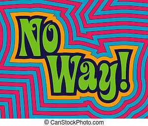 way!, não