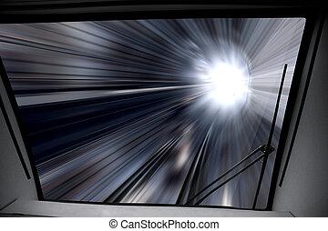 way of high-speed train