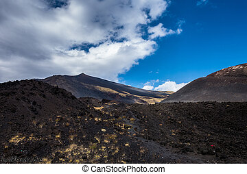 Way to mount Etna