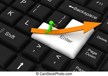 Way to success on enter key