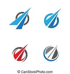 Way vector icon illustration design template