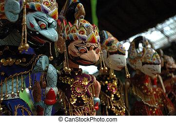 wayang golek is sundanese traditional art puppet