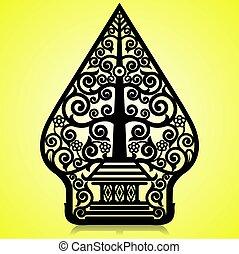 Wayang Gunungan or Tree of life
