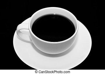 wb, καφέs , αγαθός άγιο δισκοπότηρο , φόντο. , photo., μαύρο