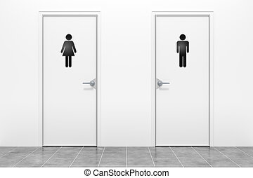 wc, 為, 女人和人