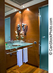 Wc in the room - the wc in a fancy hotel room