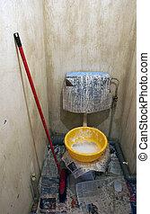 wc, renovación
