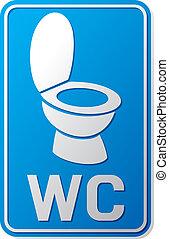 wc sign, wc icon, toilet sign, toilet symbol, toilet bowl icon