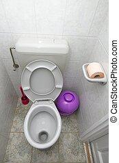 WC - Bathroom interior with toilet