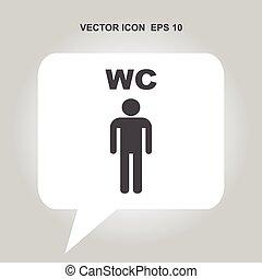 wc vector icon