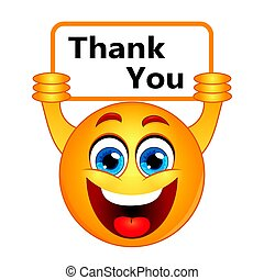 wdzięczność, dziękować, znak, nuta, dzięki, wyrażając, ty