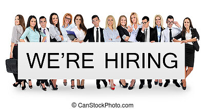 We are hiring word