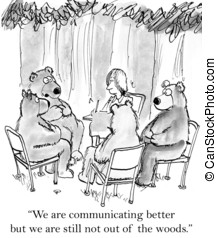 "We are still not out of the woods - ""We are communicating..."