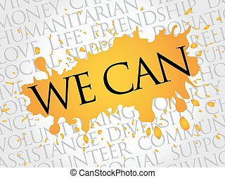 We Can, word cloud