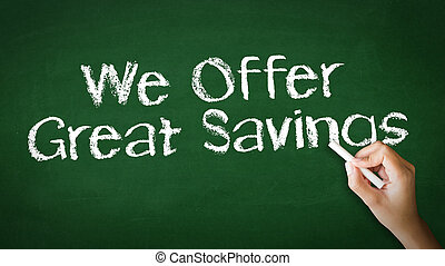 We offer Great Savings Chalk Illustration - A person drawing...