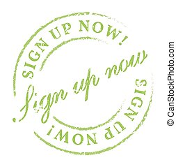 We Recommend green stamp. Disstressed natural rubber stamp...