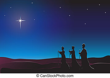 We Three Kings - The Three Kings follow the star in the East...