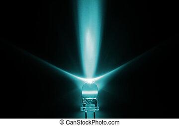 light emitting diode - We used the light from light emitting...