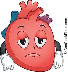 Weak Heart Mascot