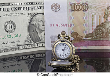 ruble exchange rate to the dollar