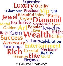 Wealth concept
