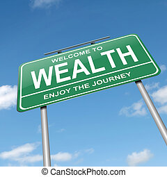 Wealth concept.