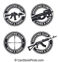 weapon rifle emblem 2