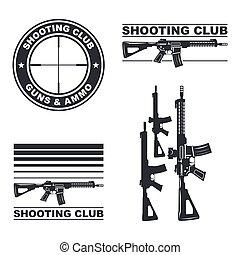 weapon rifle emblem
