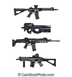 weapon rifle set2