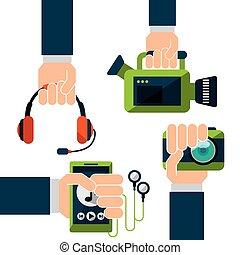 wearable technology set devices elstronics