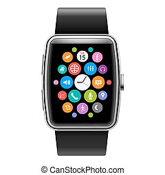Smart Watch - Wearables Technology Device Smart Watch with ...