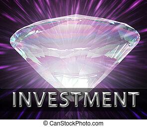 weath, économies, concept, investissement