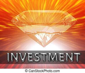 Weath savings investment concept - Luxury retirement wealth ...