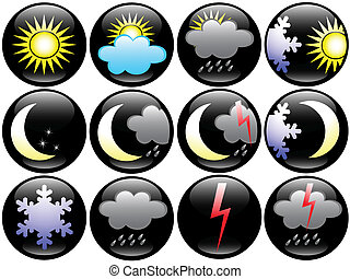 Weather and Season icons