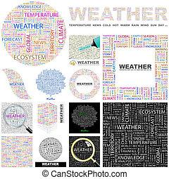 Weather. Concept illustration.
