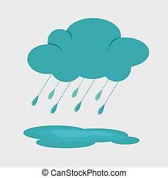 Weather design, vector illustration.
